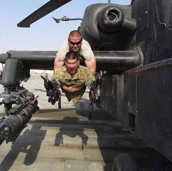солдатский юмор